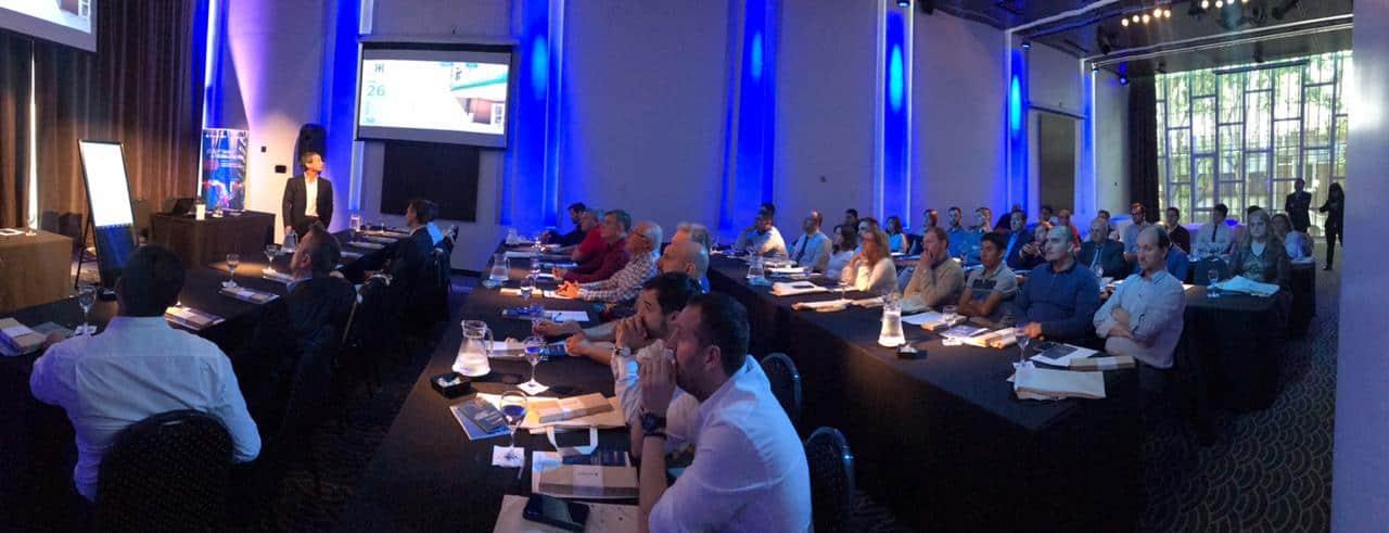 evento de engenharia clínica da neovero sistemas realizado na argentina