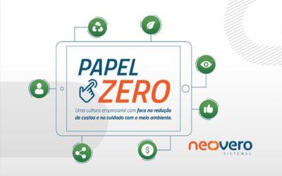 Papel Zero: uma cultura empresarial com foco na redução de custos e no cuidado com o meio ambiente.